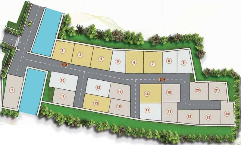 Images for Layout Plan of GDS Residential Complex