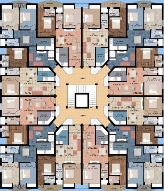Images for Cluster Plan of Essen Casa La Paz