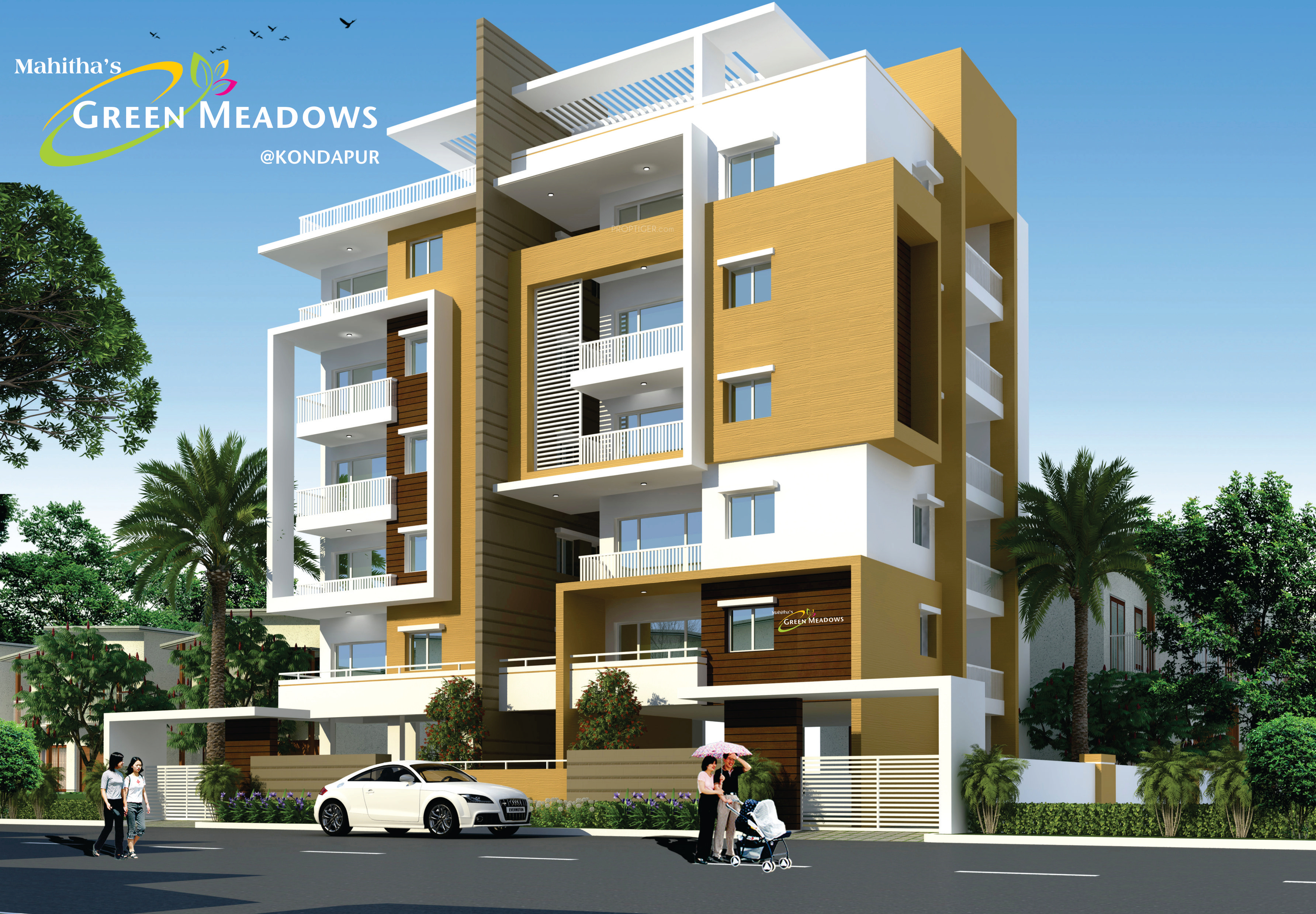 Sree Mahitha Green Meadows In Kondapur Hyderabad Price