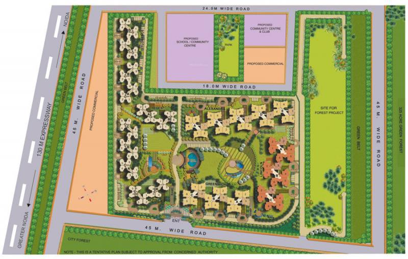 Images for Layout Plan of Omaxe Grand