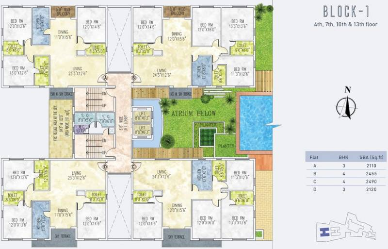 Images for Cluster Plan of Jain Dream One