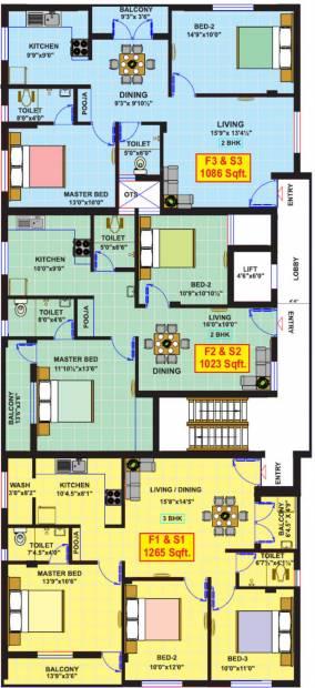 Images for Cluster Plan of Vikaan Sai Swaroop