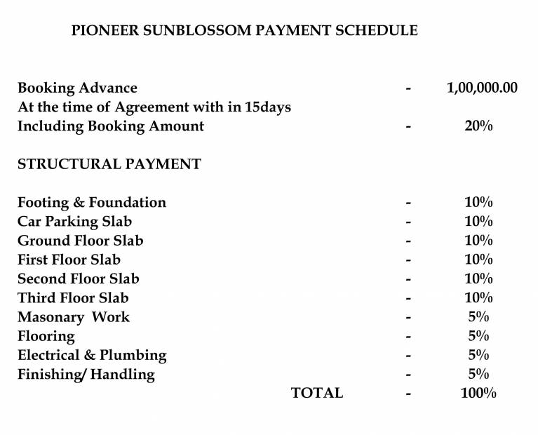 Images for Payment Plan of Pioneer Sun Blossom