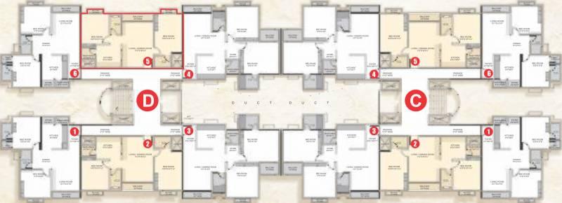 Images for Cluster Plan of Narayan Sanskruti