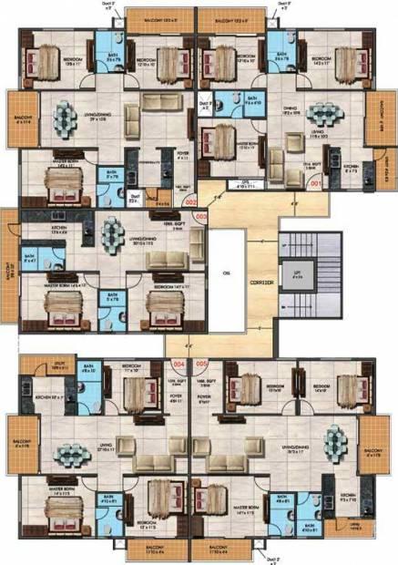 Images for Cluster Plan of Estella Ornate