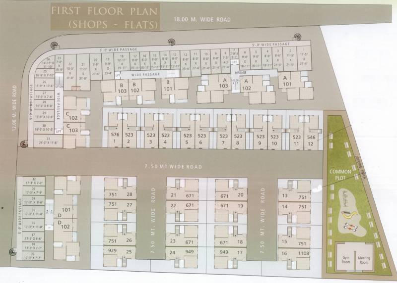 Images for Cluster Plan of Param Greens