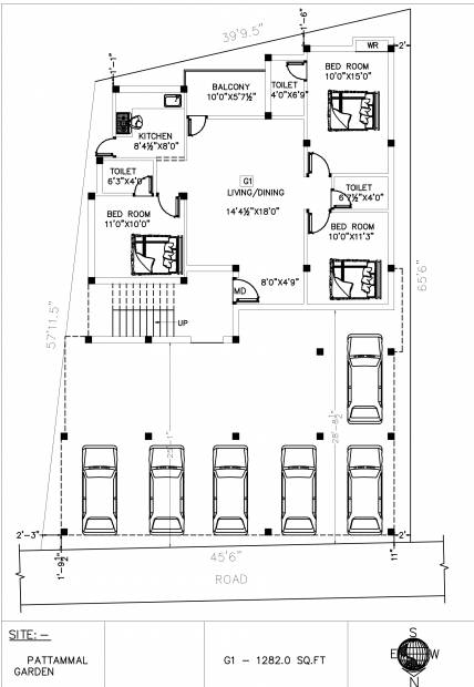 ganesha-phase-2 Ganesha Phase 2 Cluster Plan for Ground Floor