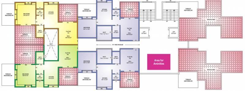 Images for Cluster Plan of Aarav Florista