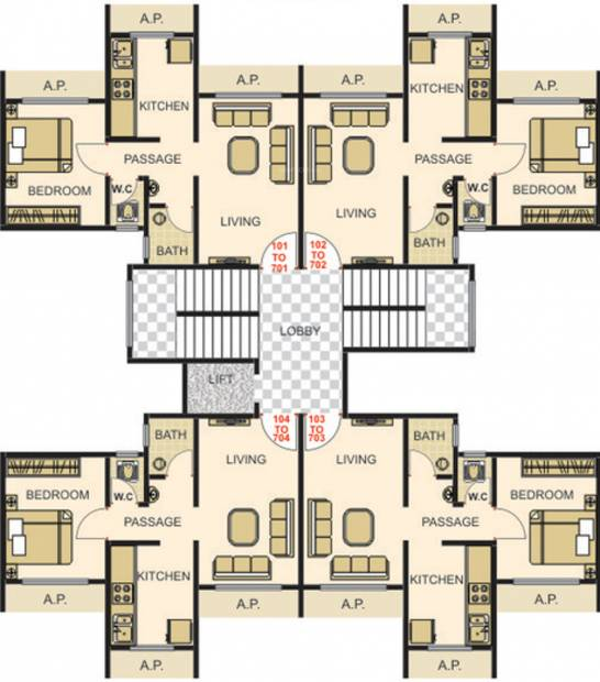 Images for Cluster Plan of Deepali Heramb Park