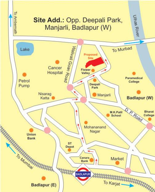 Images for Location Plan of Deepali Heramb Park