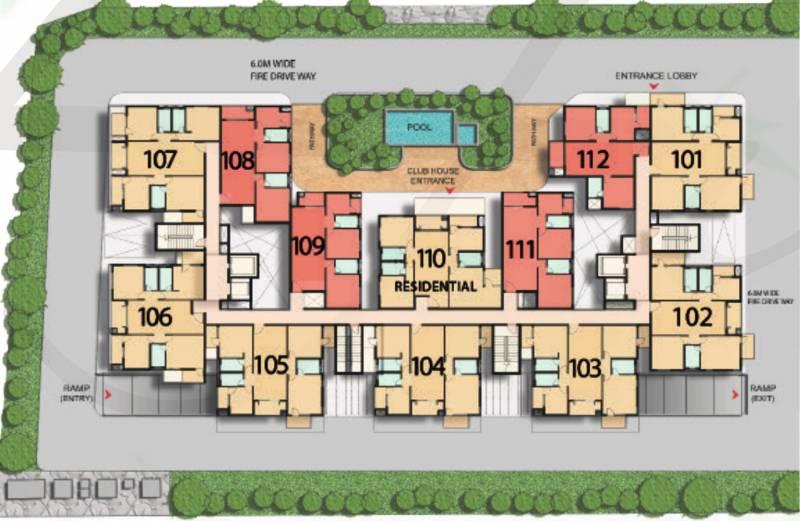 saideep-hulas Images for Cluster Plan of Sree Malyadri Saideep Hulas
