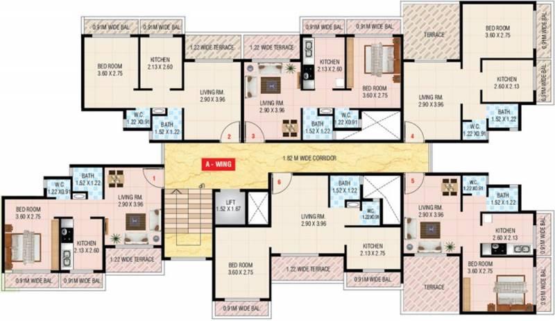 Images for Cluster Plan of Ecogreen Hill Side Residency