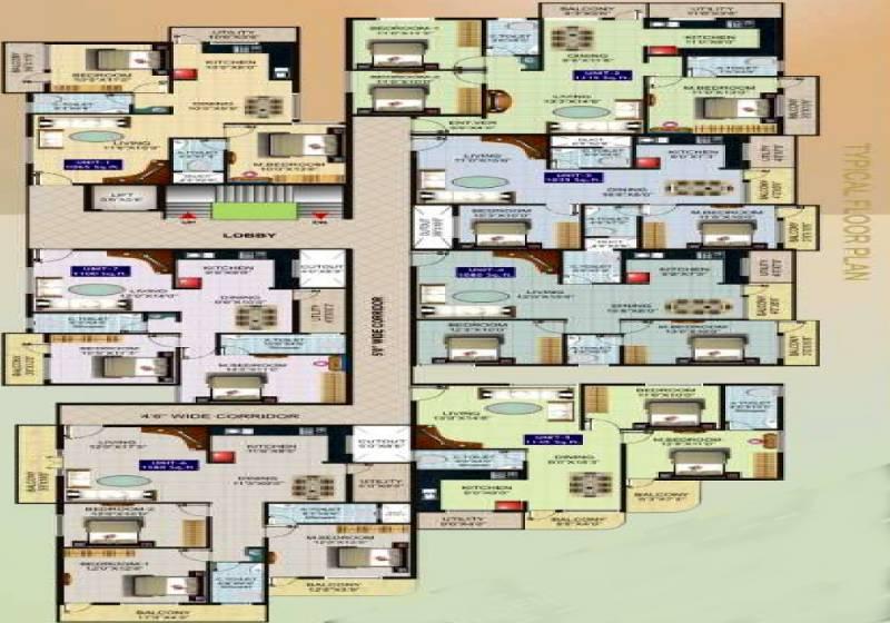 Images for Cluster Plan of Sri Vani Symphony