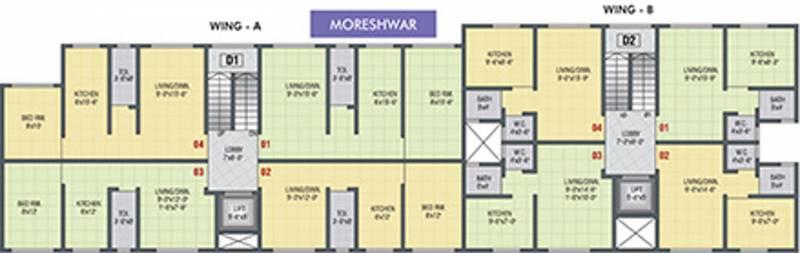 Images for Cluster Plan of Nirmiti Balaji Residency