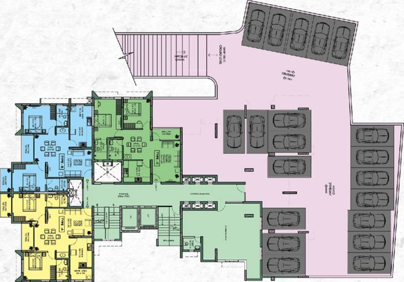 Images for Cluster Plan of Veegaland Kings Town