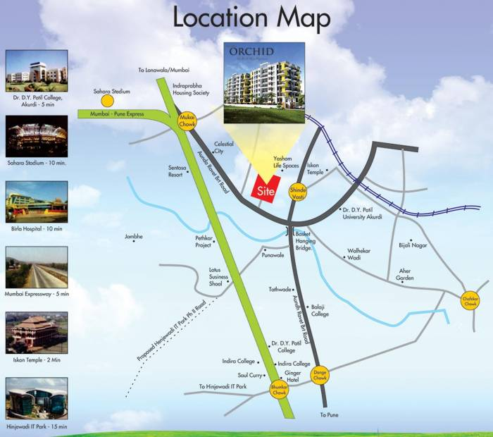 Images for Location Plan of DA Borade and Sons Bhondve Orchid