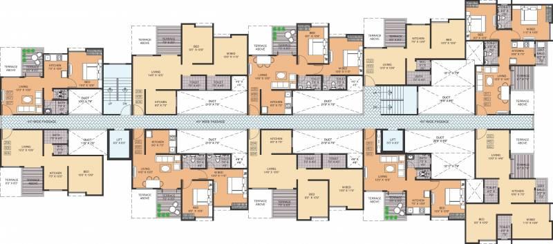 Images for Cluster Plan of Pristine Aakanksha