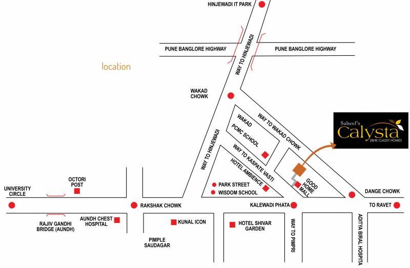 Images for Location Plan of Neev Saheels Calysta