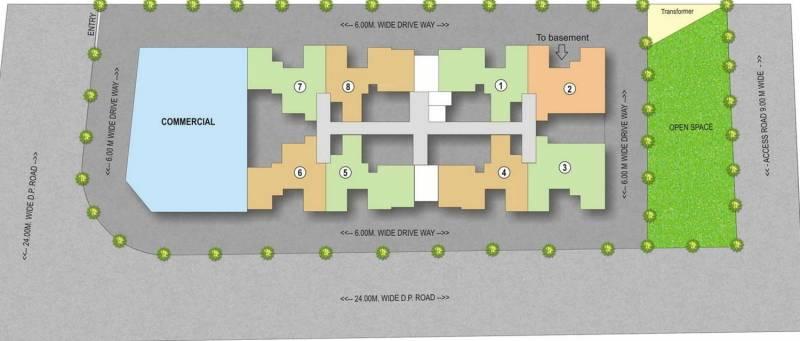 mont-vert-vivant Images for Layout Plan of Patel Mont Vert Vivant