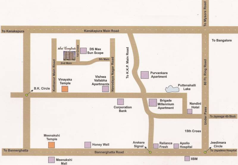 Images for Location Plan of i1 Sai Comforts