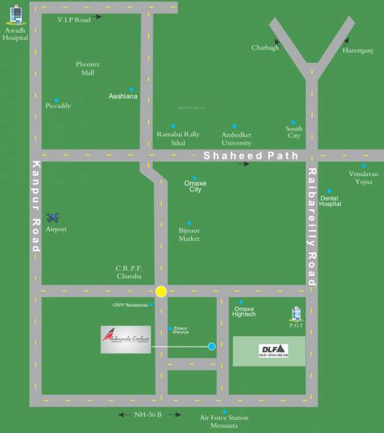 Images for Location Plan of Alaknanda Enclave