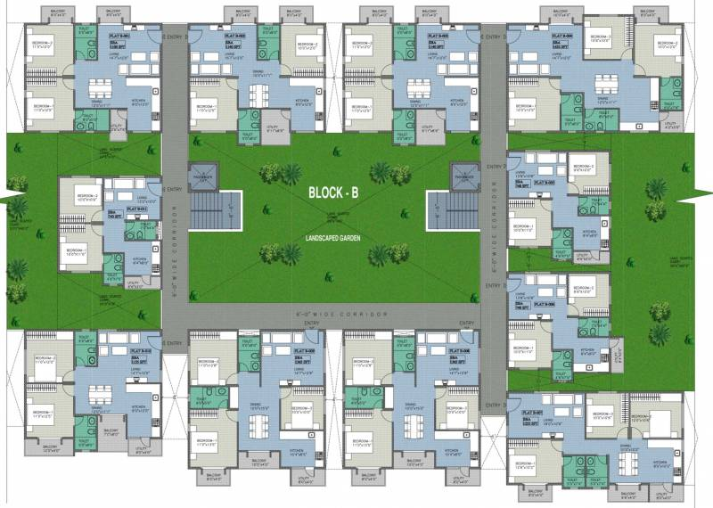 Images for Cluster Plan of BSR White Breeze