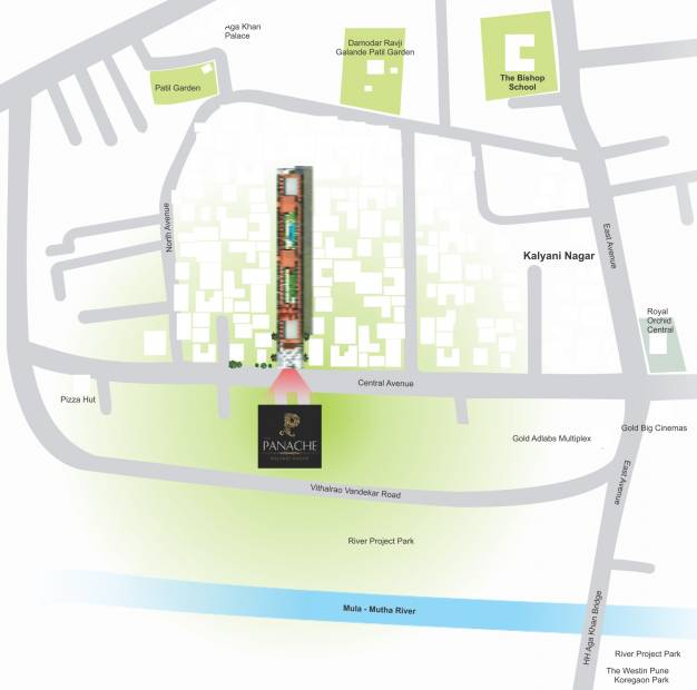 Images for Location Plan of Dugad Panache