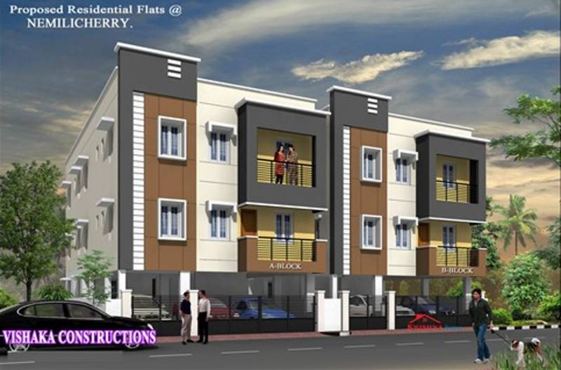 Images for Elevation of Vishaka Sai Sunder Flats