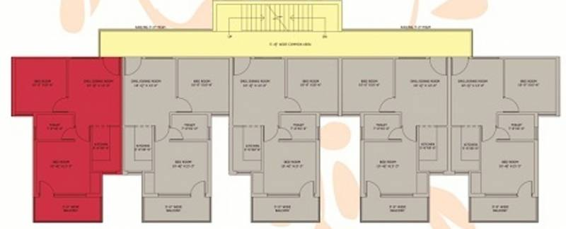 Images for Cluster Plan of SRD Western Towers