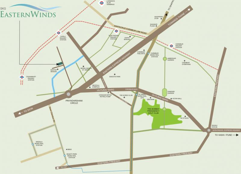 Images for Location Plan of Shree Krishna Eastern Winds