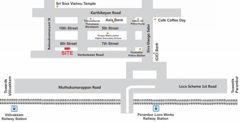 Images for Location Plan of Firm Thayagam