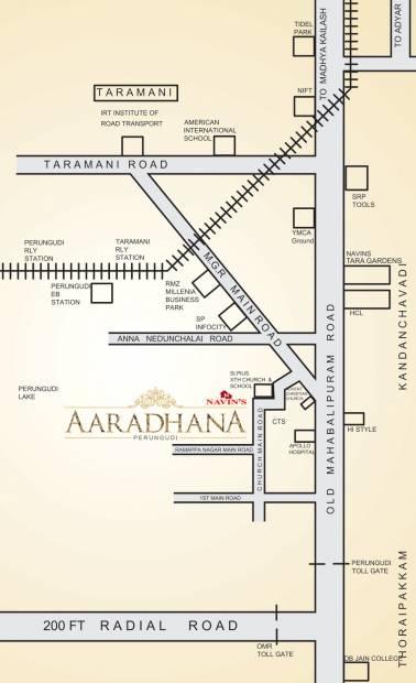 aaradhana Images for Location Plan of Navin Aaradhana