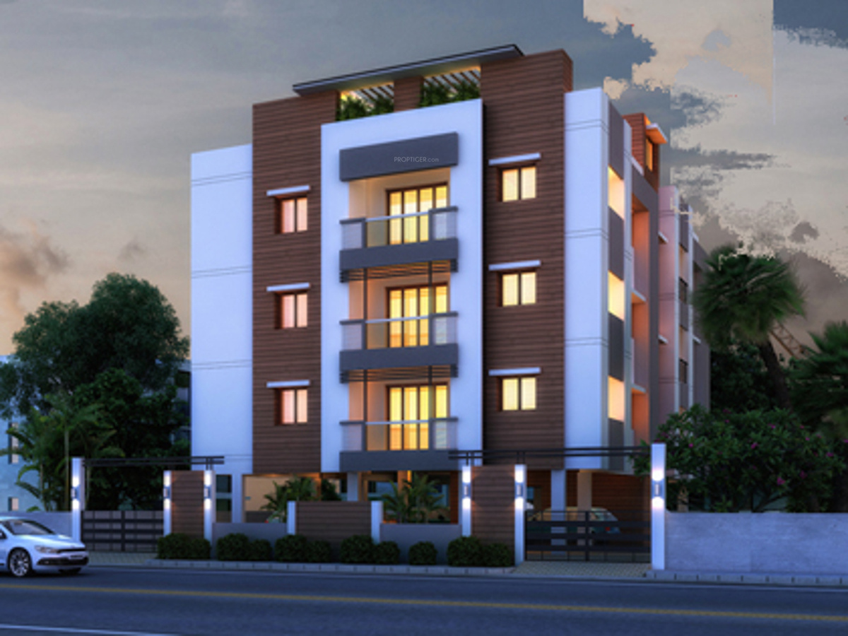 Two Floor Apartment Elevation : Bhk cluster plan image firm chinnas for sale at anna