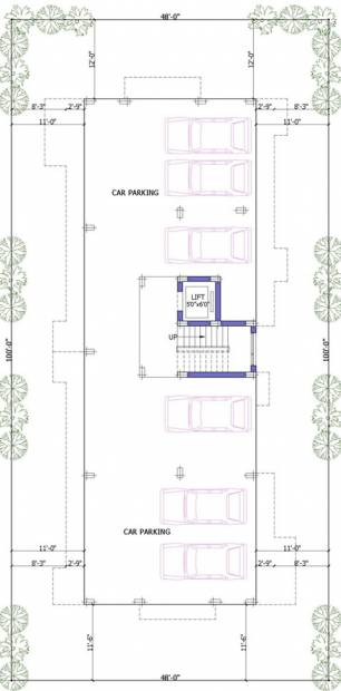 Images for Cluster Plan of Firm Palani Nivas