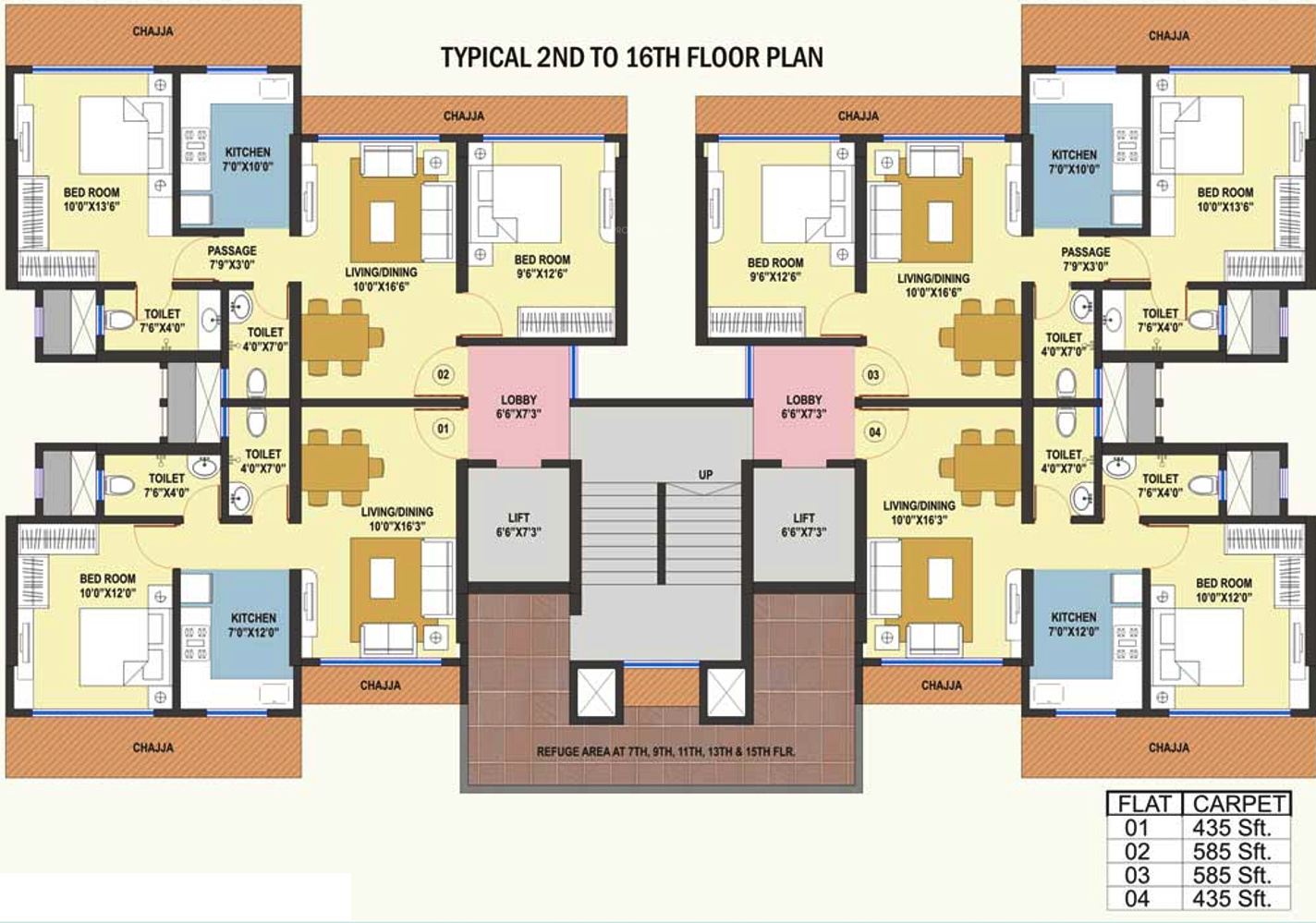 925 Sq Ft 2 Bhk 2t Apartment For Sale In Kamla White Field