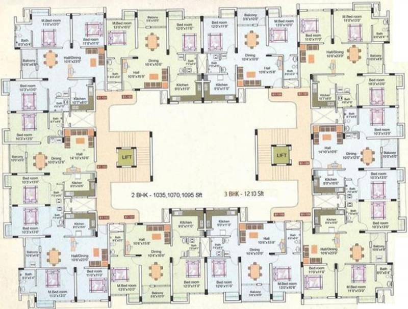Images for Cluster Plan of Land Ashoka Paradise