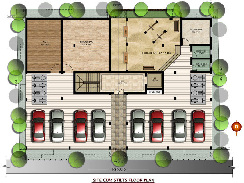 Images for Cluster Plan of Orchid Enclave