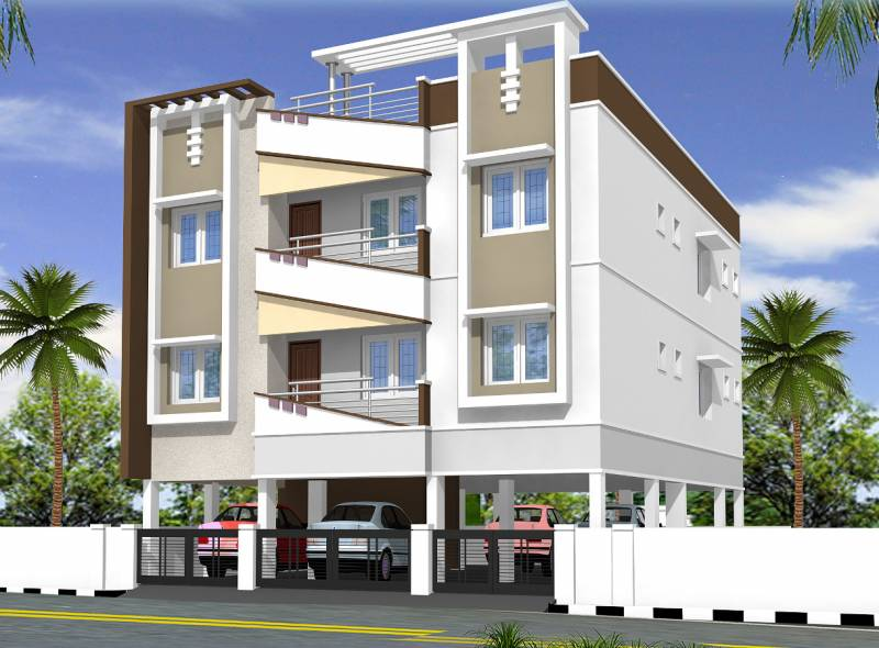 Images for Elevation of Anandaguru Sahasra Enclave