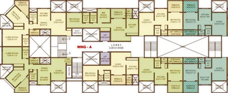 Images for Cluster Plan of Vidya Kaka Homes