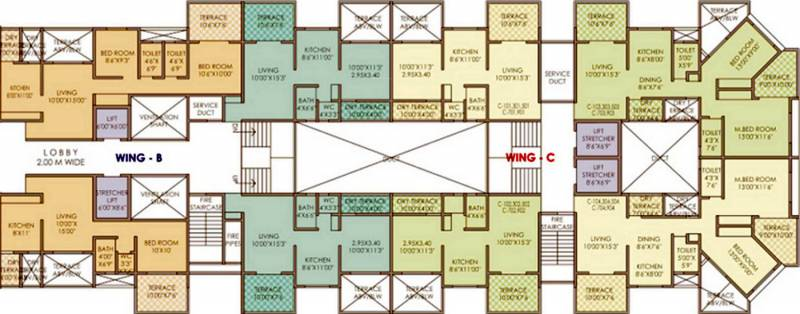 Images for Cluster Plan of Vidya Kaka Homes