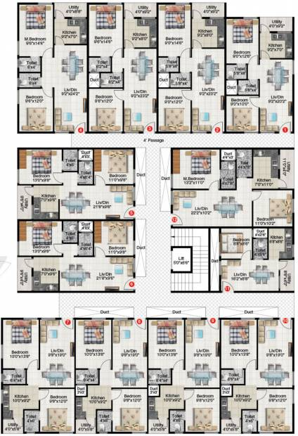 Images for Cluster Plan of Abhyudaya Elite Abhyudaya I
