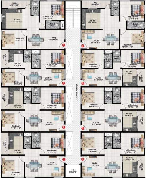 Images for Cluster Plan of Abhyudaya Elite Abhyudaya II