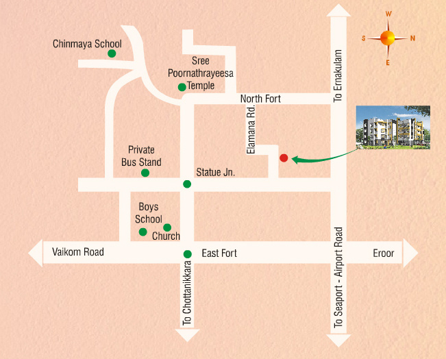 Images for Location Plan of Siddhi Vrindavan