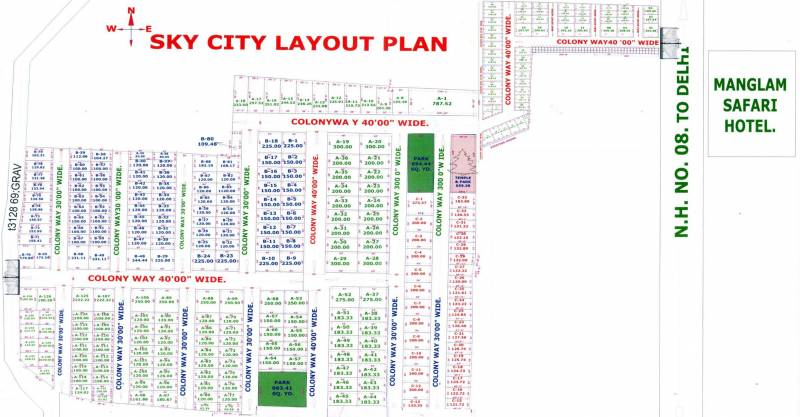 Images for Layout Plan of Sky City