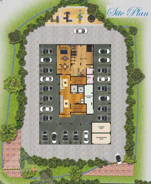 Images for Cluster Plan of Nirmaan Evanna Homes