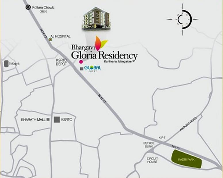 Images for Location Plan of Nirmaan Bhargavi Gloria Residency