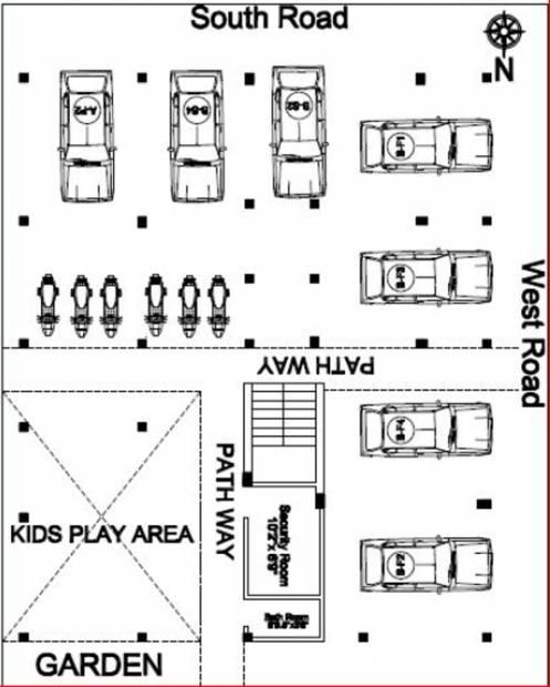 sri-krishna-palace-b Images for Cluster Plan of Sri Lakshmi Ram Constructions Sri Krishna Palace B