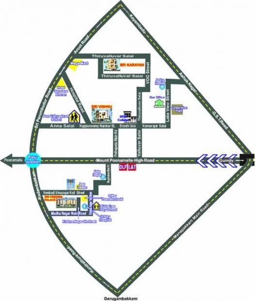 sri-krishna-palace-b Images for Location Plan of Sri Lakshmi Ram Constructions Sri Krishna Palace B