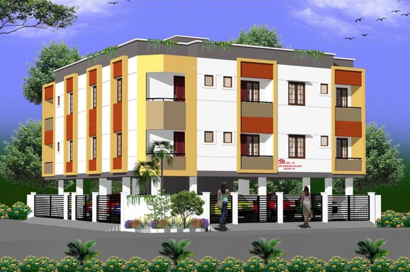 Images for Elevation of Sri Lakshmi Ram Constructions Sri Krishna Palace B