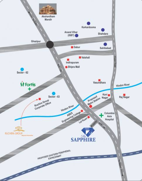 Images for Location Plan of Ruchira The Sapphire